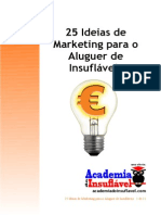 25 Ideias de Marketing Para o Aluguer de Insuflaveis