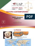 1.- Historia - Etapas de La Historia
