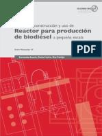 Manual de construcción y uso de Reactor para produccion de Biodiesel a pequeña escala