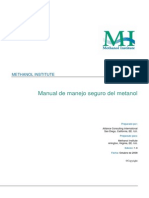 Manual de Manejo Seguro Del Metanol