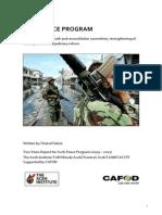 Aceh Peace Program Report