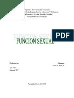 Funcion Sexual