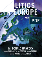 Politics in Europe an Introduction to the Politics of the United Kingdom France Germany Italy Sweden Russia and the European Union