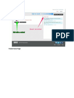 parent  portal screen shots