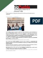 15-12-2013 Sexenio Puebla - Histórica inversión para conservar el patrimonio, Moreno Valle