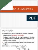 Ramas de la Lingüìstica