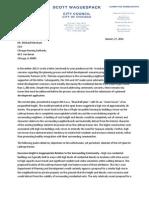 Alderman Scott Waguespack Lathrop Letter to CHA 012714