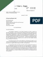Letter on bridge lane closings