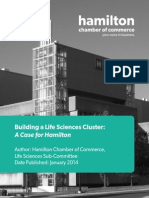 Hamilton Chamber of Commerce Life Science Cluster Report
