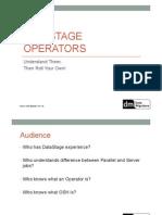 ISUG Melbourne Operators