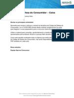 Codigo Defesa Consumidor Cef Tecnico Bancario 2013 Intensivo Aprova Premium