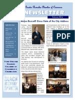 Greater Romulus Chamber of Commerce Newsletter February 2014