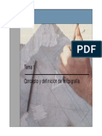 PPT Tema 1 Concepto y Definicion de Epigrafia