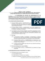 Edital Sefaz RJ 2013 Auditor Fiscal