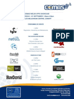 App Showcase Programme Sept 2011