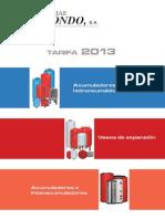 Catalogo Tecnico Vol Acum Ibaiondo 2013