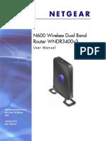 Router WNDR3400v3