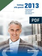 Catalogo Tecnico Buderus 2013