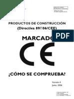 Productos de Construccicón-Comprobacion marcado CE_version4_junio_2006