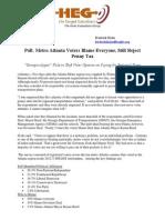 HEG Snow Survey Press Release Jan 31 2014 Final