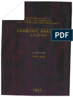 Harmonic Analysis Studies