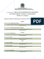 Sorteio Da Ordem e Pontos Da Prova de Desempenho Didtico Retificado 3101
