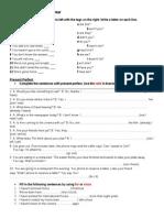 Language Revision 1st Units 4 y 6 EIM