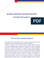 Principles of L2 Teaching