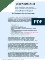 Cacheof PDF Our Global Neighborhood From Sovereignty Net