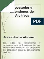 Ofimática - Accesorios y Extensiones de Archivos