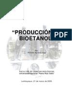 Monografía_Producción de Bioetanol_XV Curso de Titulación