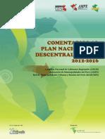 ANGR Plan Nacional de Descentralización