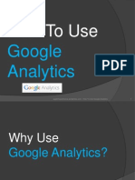 How to Use Google Analytics (for beginners)