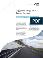 Capgemini FS Pega PRPC Testing Services FS0510