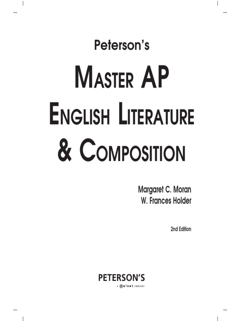 AP-Master the AP English Literature and Composition