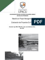 Evaluacion de Proyectos Ex-Post Sesion 3