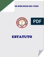 Estatuto Colegio de Biólogos del Perú