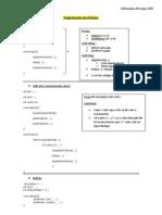 Programação em Arduino