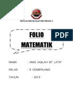 Folio Matematik