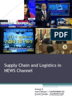 Group 5A Supply Chain and Logistics in NEWS Channel