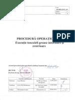 Procedura Operationala Executie Tencuieli Groase Interioare Si Exterioare