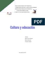 Informe Cultura Educacion Ambiental Familia y Derechos Humanos