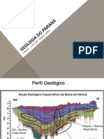 Geomorfologia e geologia do Paraná