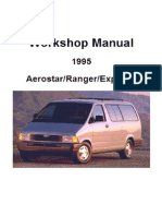 1995 Manual de Taller Explorer, Aerostar, Ranger
