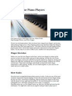 Exercises for Piano Players