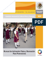 Manual de Activacion Fisica y Recreacion Promotor