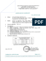 Certificado de Calibracion Serie 44308