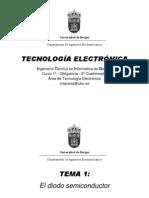 Diapositivas1 - Diodo Semiconductor