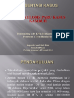 168353601 Tuberkulosis Paru Dengan Komplikasi Efusi Pleura Ppt 1