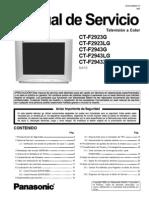Tv Panasonic Modelo - Ct-f2923g - Ct-f2923lg - Ct-f2943g - Ct-f2943lg - Ct-f2943xg